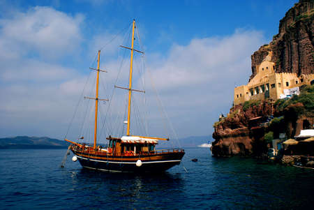 Traditional boat for cruise