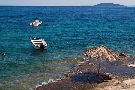 Beautiful beach at Chalkidiki peninsula, Greece Stock Photo