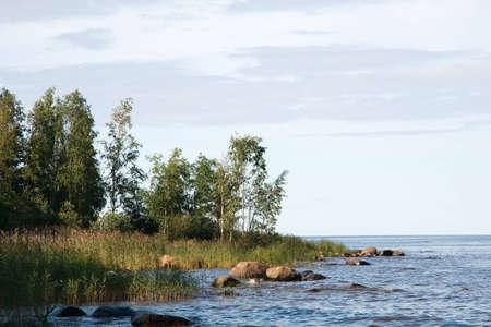 rocky point: La riva del lago Ladoga Rocky Point