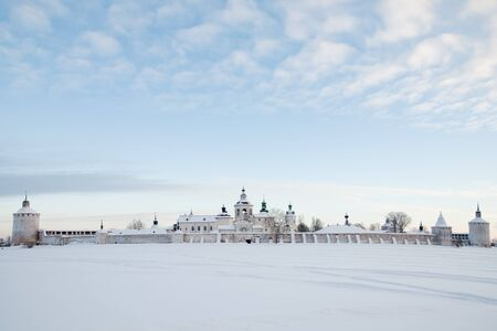 stronghold: Kirillo-Belozersky monastery  The cultural heritage of the Russian North  Stock Photo