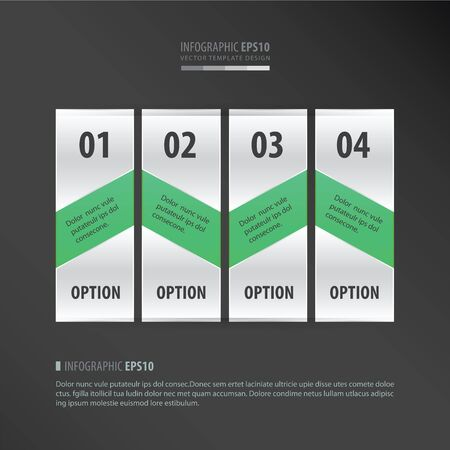 neon green: banner vector design 4 item   neon green