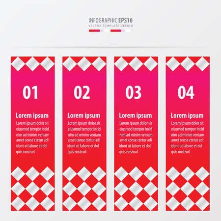 checker: banner checker style  pink color