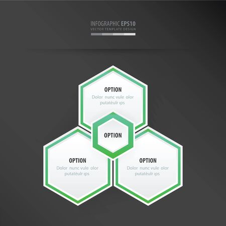 neon green: Hexagon vector design    neon green