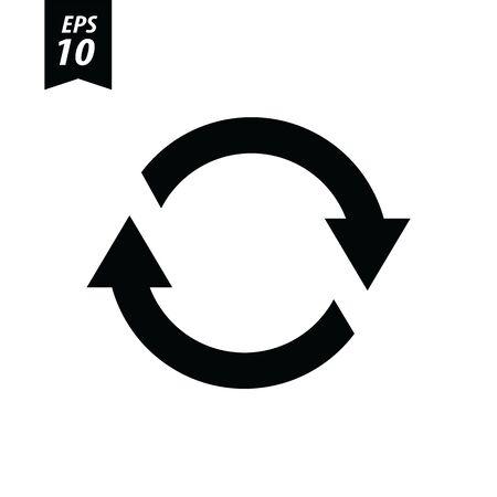 refresh icon: Refresh Icon  Refresh Icon Vector Illustration