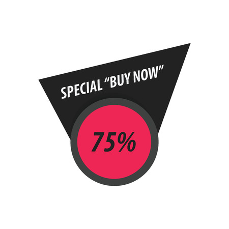 pink and black: Buy Now Label Design   black, pink