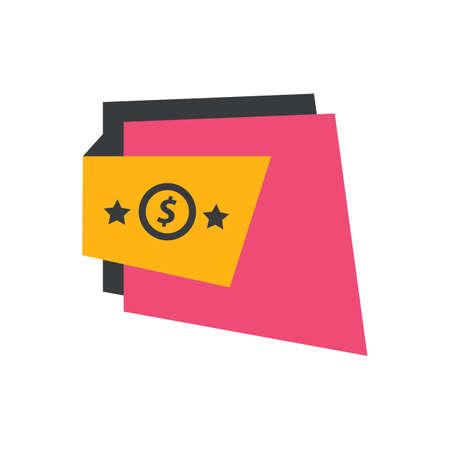 pink and black: Label Design Star pink, yellow, black