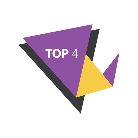 yellow and black: top4 Text in Label  Purple, yellow, black