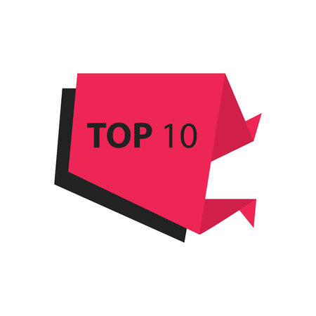 black and pink: top10 Text in Label   black, pink