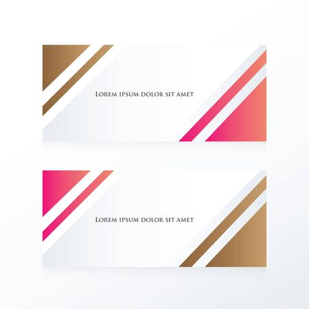 pink and brown: abstract banner pink, Brown
