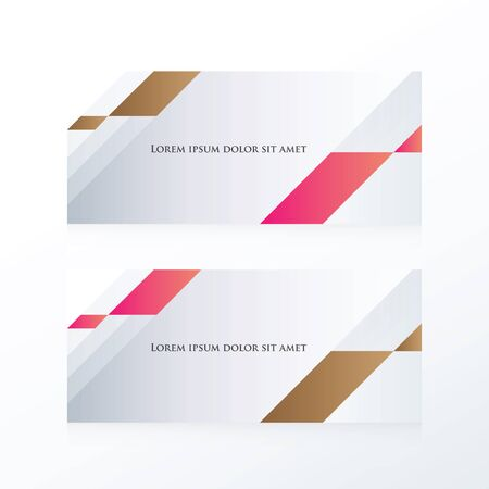 pink brown: abstract banner vector  pink, Brown Illustration