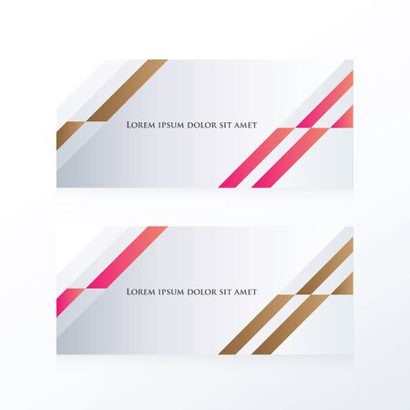 pink brown: abstract banner design  pink, Brown