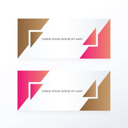 pink brown: banner abstract pink, Brown