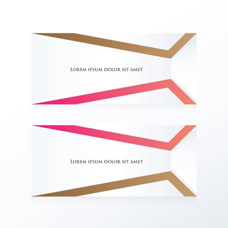 pink brown: vector abstract banner  pink, Brown