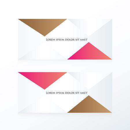 pink brown: abstract pyramid banner  pink, Brown