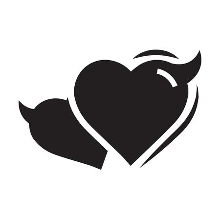 fateful: Two Heart of Devil love black color