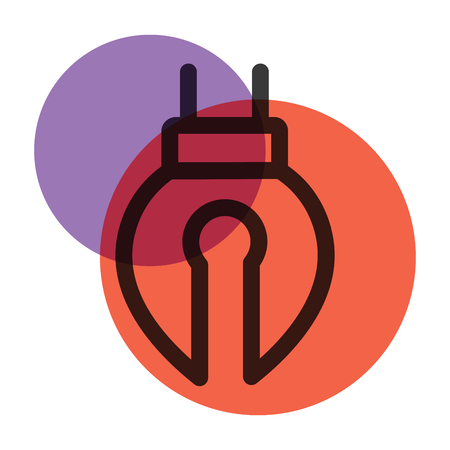 A pen tool Stationery Office icon  color mark.