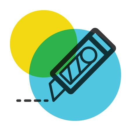Cutter icon color mark