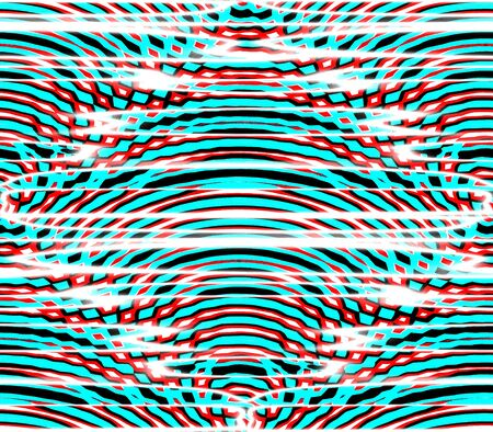 cast in place: Abstract seamless background pattern of rows placed strips and dots, spots of white and red, blue and black