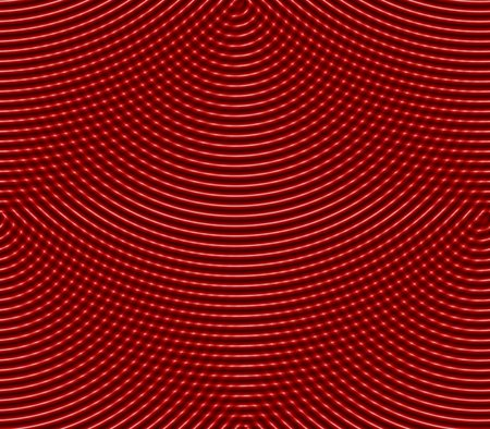 cast in place: Abstract seamless background pattern of rows placed strips and dots, spots of red, white, black Stock Photo