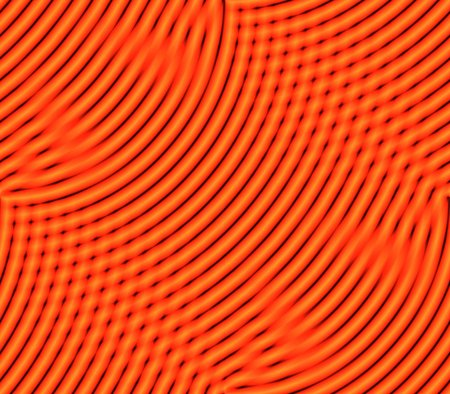 cast in place: Abstract seamless background pattern of rows placed stripes and spots burgundy, orange