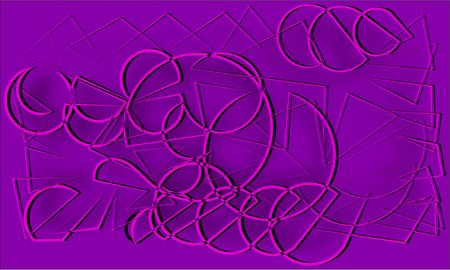 cords: abstract purple and gray cords piles heaped and intertwined with each other on a purple background