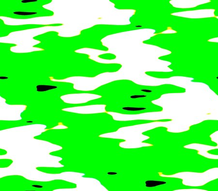 abstract seamless background with colored spots and lines of black and green and white.