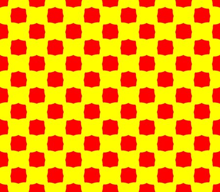 yellow teeth: Abstract seamless yellow background red squares Abstract seamless yellow background red squares are laid out in rows and form a continuous pattern