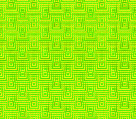 Abstract seamless strips and small squares of yellow and green laid out in rows and form a continuous pattern 版權商用圖片