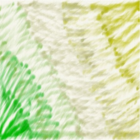 Abstract white background of yellow and gray and green lines and points on canvas. Illustration
