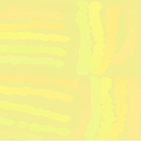artist's canvas: Abstract background of spots of yellow spreading paint light and dark throughout the drawing