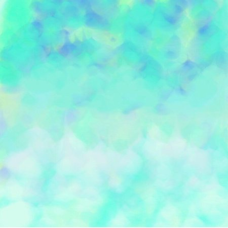 artist's canvas: Abstract background of blue flowing paint spots of light and dark throughout the drawing