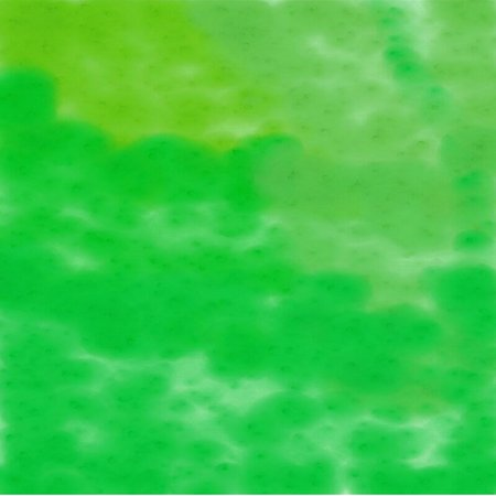 Abstract background of spots of yellow and green spreading paint light and dark throughout the drawing Illustration