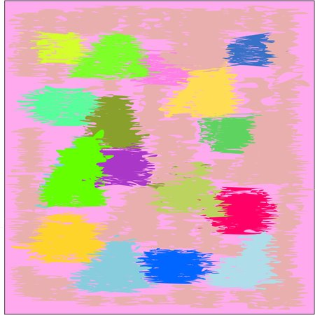 fresco: Cool  writing texture pink and blue and yellow and green tone, design for greeting cards and banners and posters