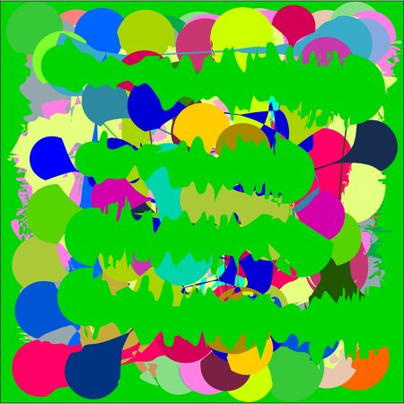 fresco: Abstract texture bright yellow and blue and green and pink in light and dark tone, design for greeting cards and banners and posters
