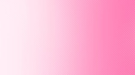 Dot pink pattern gradient texture background. Abstract pop art halftone and retro style.