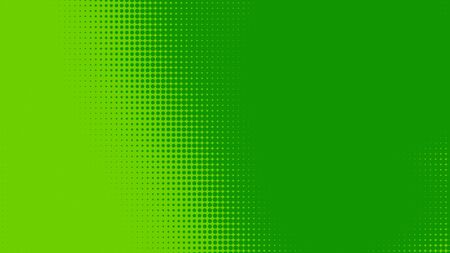 Dots halftone green color pattern gradient texture with technology digital background. Dots pop art comics with nature graphic design. Stock fotó