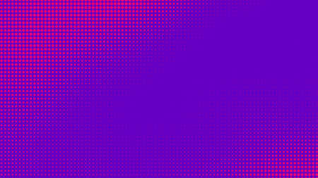 Dots halftone purple pink color pattern gradient texture with technology digital background. Pop art comics with nature graphic design. 版權商用圖片