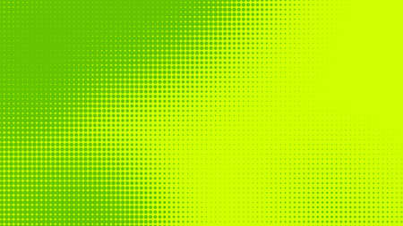 Dots halftone green color pattern gradient texture with technology digital background. Dots pop art comics with nature graphic design. 스톡 콘텐츠
