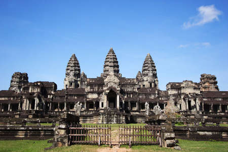 angor: Angor Wat, Cambodia Stock Photo