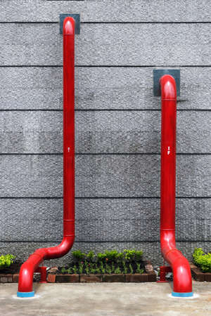 Pipe for water supply and drain of building photo