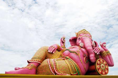 Big Sculptures of Ganesha, Thailand photo