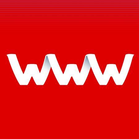 Signe du site Web Vecteurs