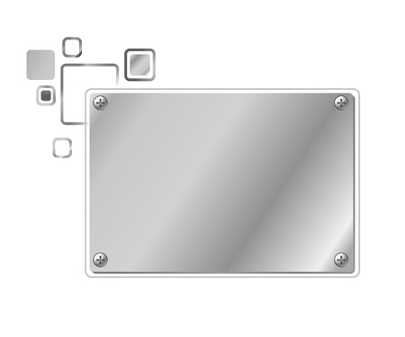 cloud: Stylized abstract industrial frame