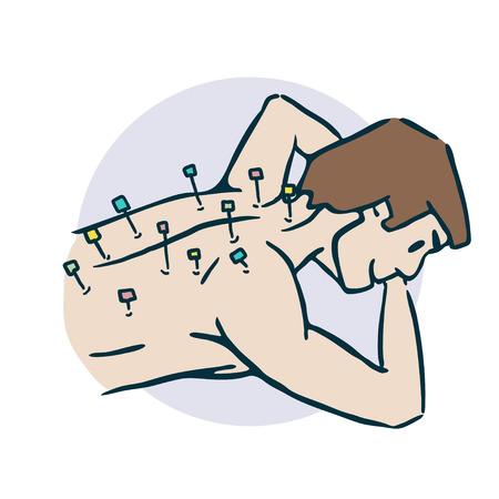 Acupuncture Treatment icon.