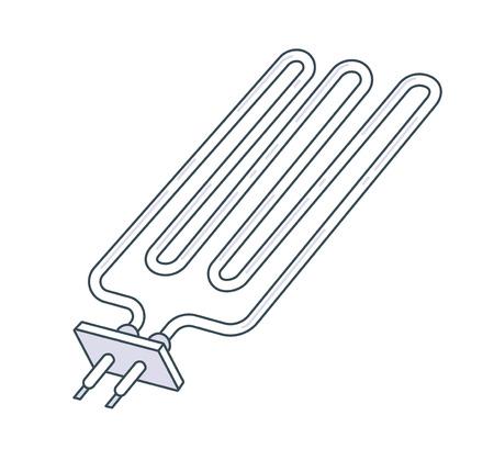 Metal Pipe Radiator Icon