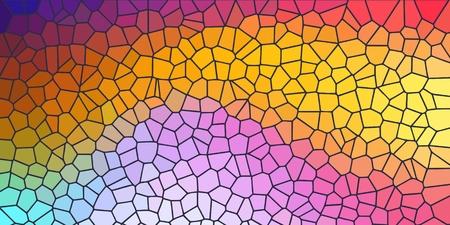 Bunter Hintergrund mit Nachahmung von farbigem Glas.