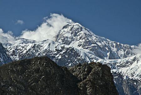 mt: Mt. McKinley peak Denali National Park Alaska.
