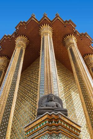 pra: Pra Kaew national palace in bangkok,Thailand