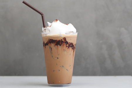 Ice Mocha coffee