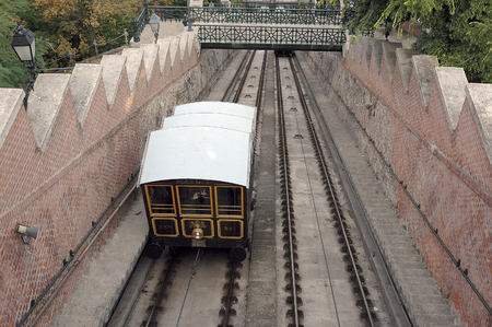 part of me: El Budavr teleférico (en húngaro: Budavri ?ikl) un ferrocarril especial, Budapest I. en su circunferencia de uno de los dispositivos de enfoque del palacio Budavr, la UNESCO aparece como parte integrante del panorama de Budapest sobre los bancos del Danubio en la lista o